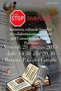 No stop reading_2013
